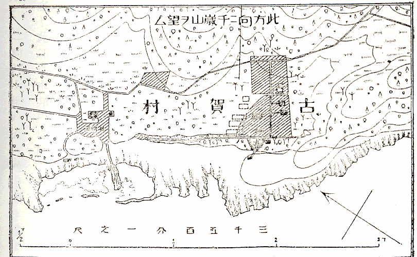 久場島地名図−部分図