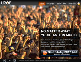 Urge MTV マイクロソフト