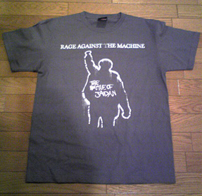 Rage Against the Machine Tシャツ