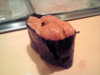 築地 寿司大 すしだい ウニ