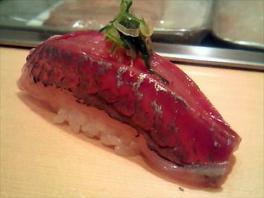 築地 市場 寿司大 すしだい 鯵