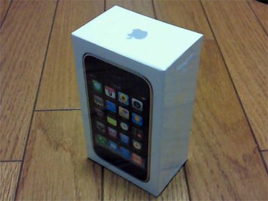 iPhone 3GS 購入