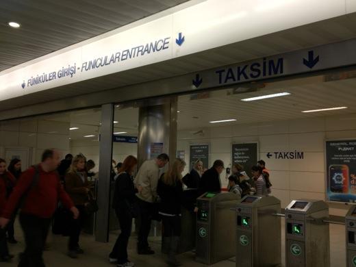 トルコ イスタンブール サッカー観戦 ガラタサライ ケーブルカー フニキュレル