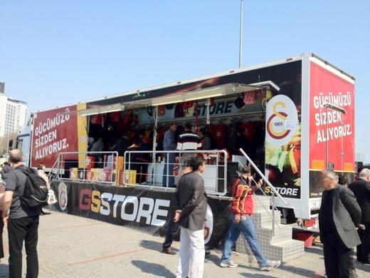 トルコ イスタンブール サッカー観戦 ガラタサライ GSSTORE タクシム広場