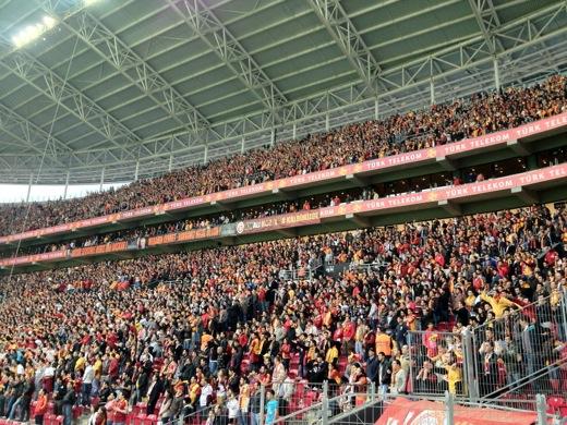 トルコ イスタンブール サッカー観戦 ガラタサライ トルコ・テレコム・アリーナ