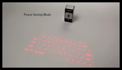 virtual laser projection keyboard