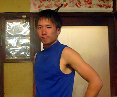 岡山大学野球部キャプテン