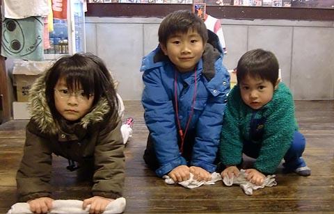 保育園児のボランティア