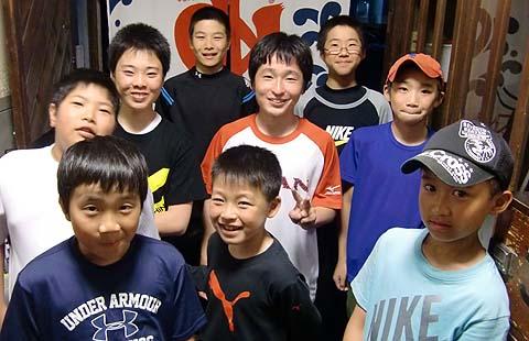岡山中央ソフトボ−ル少年団