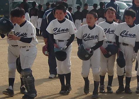 中央スポ−ツ少年団初優勝