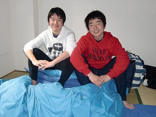 息子二人の「大阪卒業旅行」