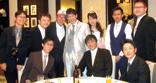 番頭の友人の結婚式