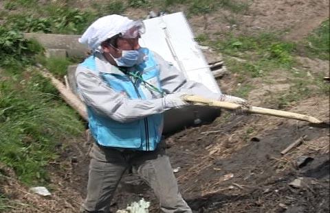 2011番頭の岩手県ボランティア活動