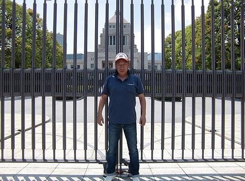 2016国会議事堂の番頭