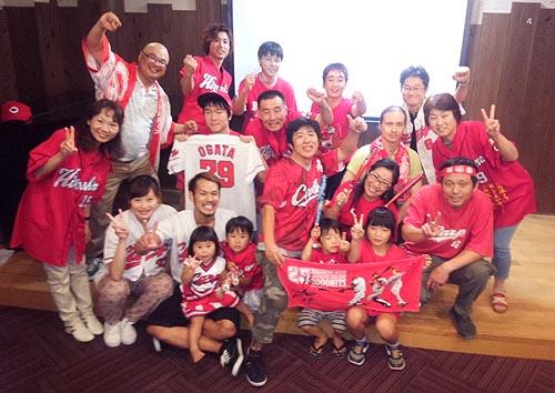 2016広島カ−プ優勝決定日
