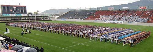 2016高校ラグビー開会式