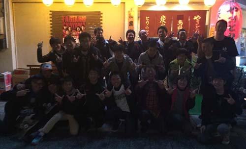 清心温泉友の会会長を囲む会