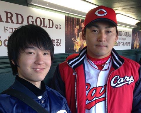 広島カープ丸外野手