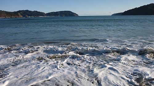 2018新春の根浜海岸