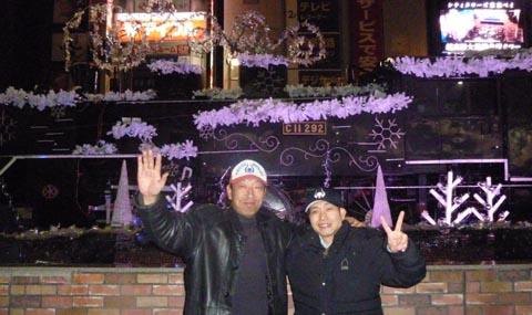 2018東京の常連客との新年会
