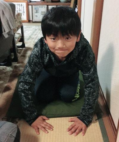 常連客の8歳の少年