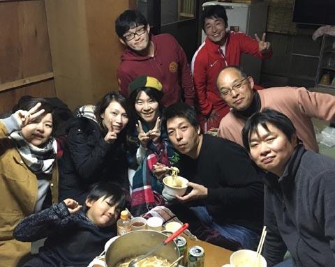 2018キムチ鍋パーティー