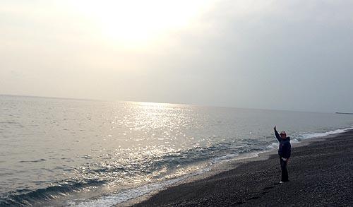 高知県安芸市の太平洋
