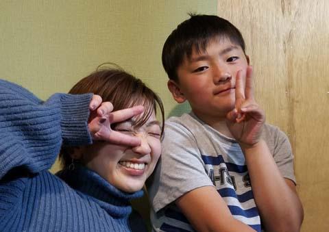 8歳の少年