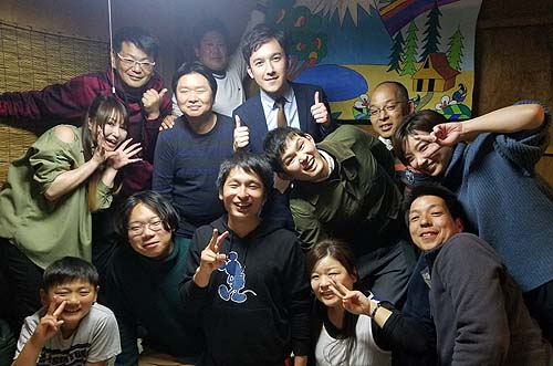 NHK岡山放送との懇親会