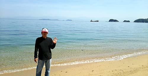 愛媛県伯方島沖浦ビーチ