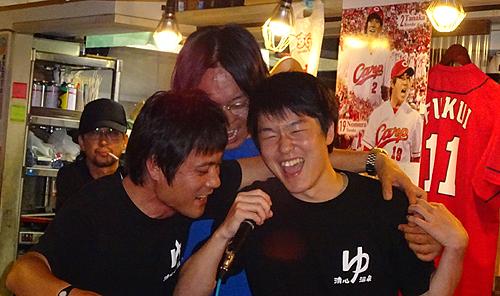 岡山駅前商店街復興イベント打ち上げ
