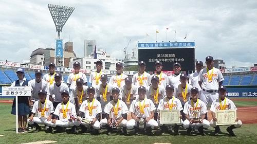 2018中学校野球全国大会