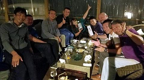 釜石からのお客様歓迎会