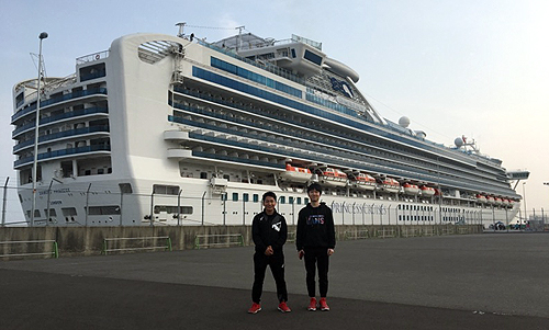 高知県の豪華客船
