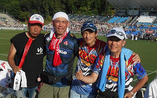 ラグビーワールドカップ日本vsフィジー