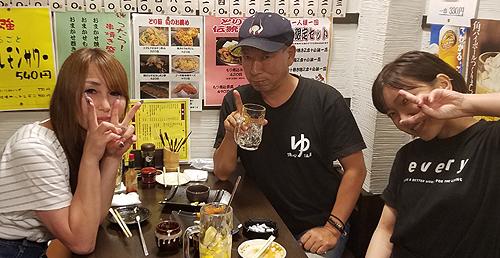 東京上野での「女子会」