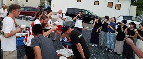 根浜の方々との交流会2019