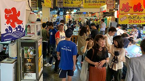 高知県ひろめ市場