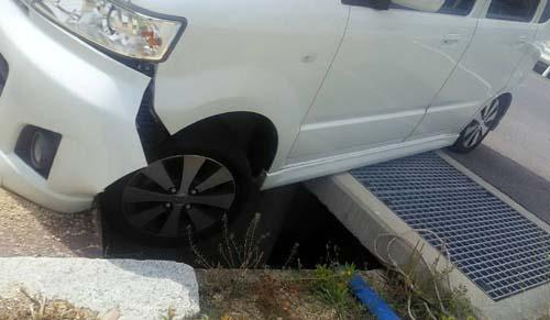 番頭の交通事故