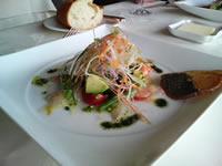 オードブルのお刺身サラダ