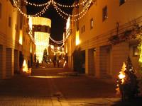 リゾナーレのクリスマスイルミネーション