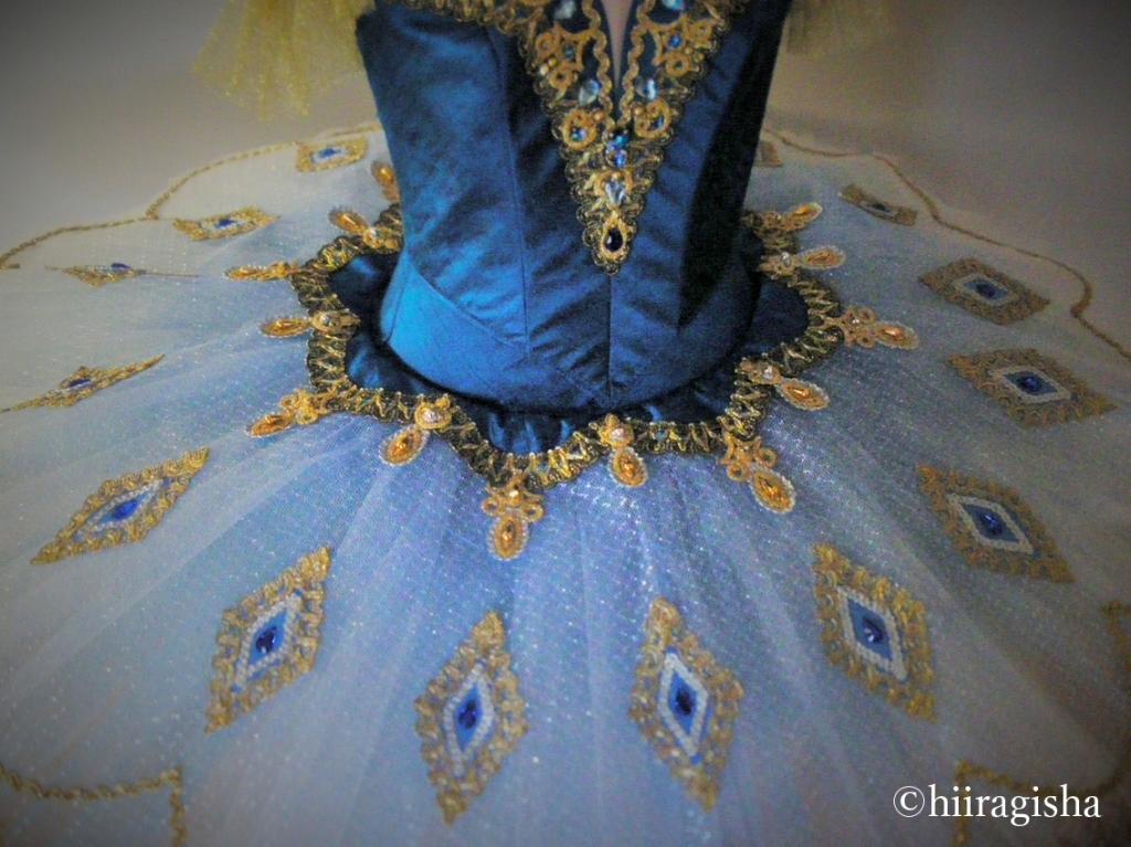 ファラオの娘の衣裳のアップ