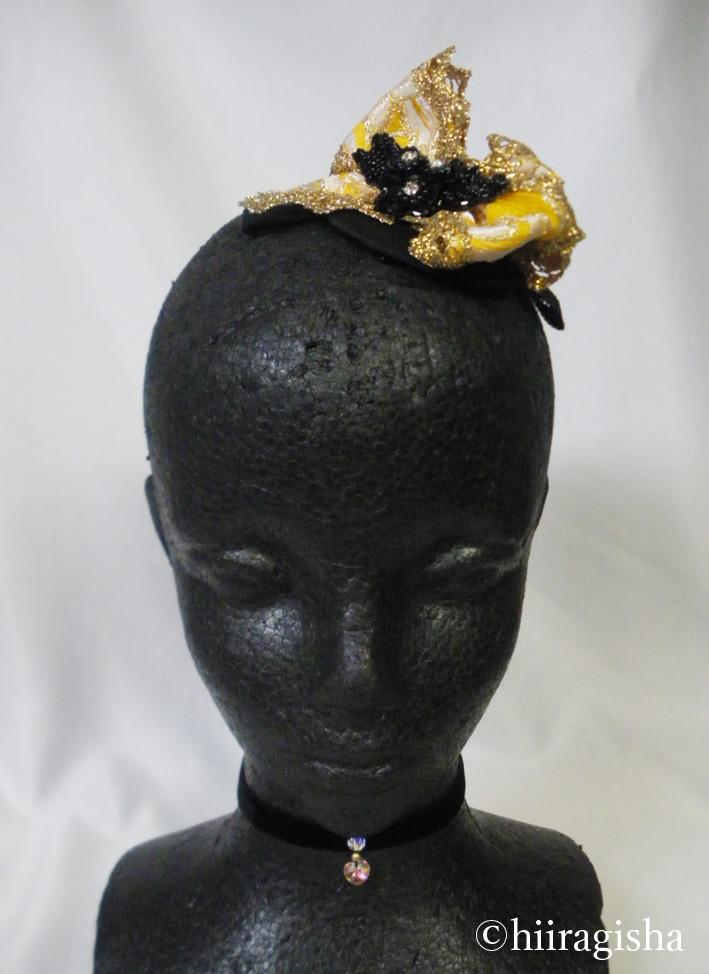 アレルキナーダ頭飾り