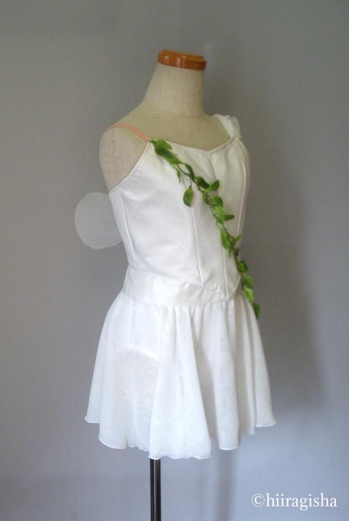 白いキューピットの衣裳
