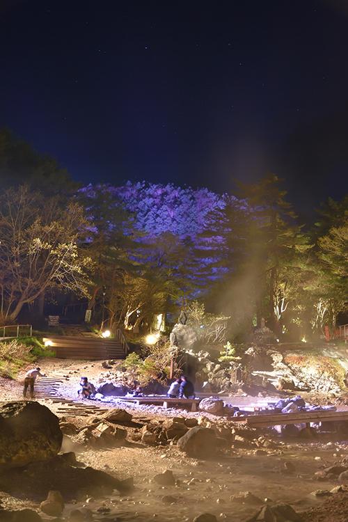 丸山ライトアップ