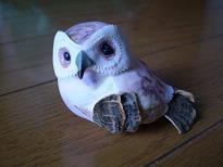 フクロウのマグネット1