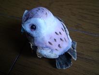 フクロウのマグネット2