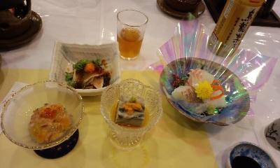 今日の夕食1