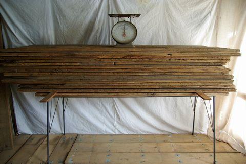 アンティークパイン鉄脚テーブル 137-1.jpg