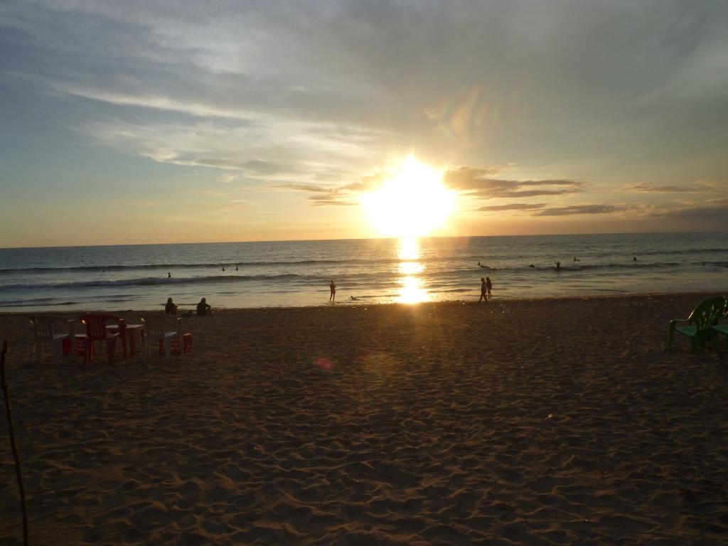 レギィアンビーチの夕日